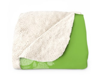 Vegan Blanket | Flawless Apple Cozy Blanket | Vegan Home & Living Gifts |  Vegan Designer Collection