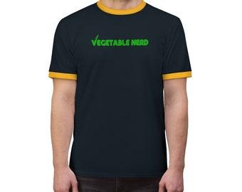 Vegetable Nerd | Plant Based Collection | Herbivore Mens & Womens Vegan T-shirt | Veganya Designer