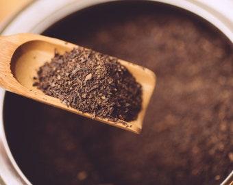 JAVA Blend Loose Leaf Tea | CAFFEINE FREE | Certified Kosher Ingredients | Coffee Lover's Tea Blend | 4 Rich Ingredients | Enjoy Hot or Iced