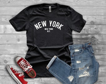 c8ed13d75c2d Unisex NEW YORK Tee | CITY | Vacation | Tshirt | Represent T-shirt | Gift | T  shirt Trends