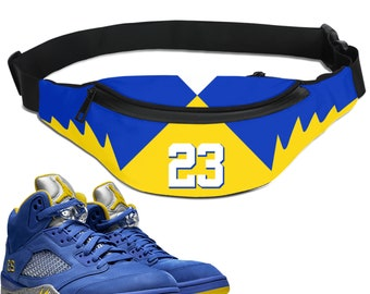 66292967538ab1 Retro Laney Jordan 5 Colorblock Crossbody bag
