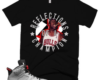 d2ab44573f7 Cigar | 3M Reflective T-Shirt | Retro Jordan 6 Jordan 7 Jordan 8 T-shirt |  Tee | Shirt | Designed to Match Air Jordan 7 Sneakers VII VI VIII