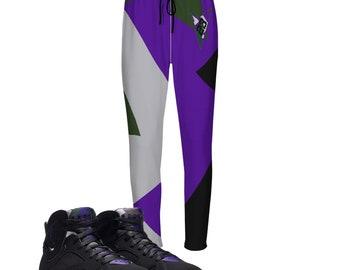 64e77079c5 Ray Allen |Joggers| Retro Jordan 7 Colorblock | jogging pants | Designed to  Match Air Jordan VII Sneaker flight