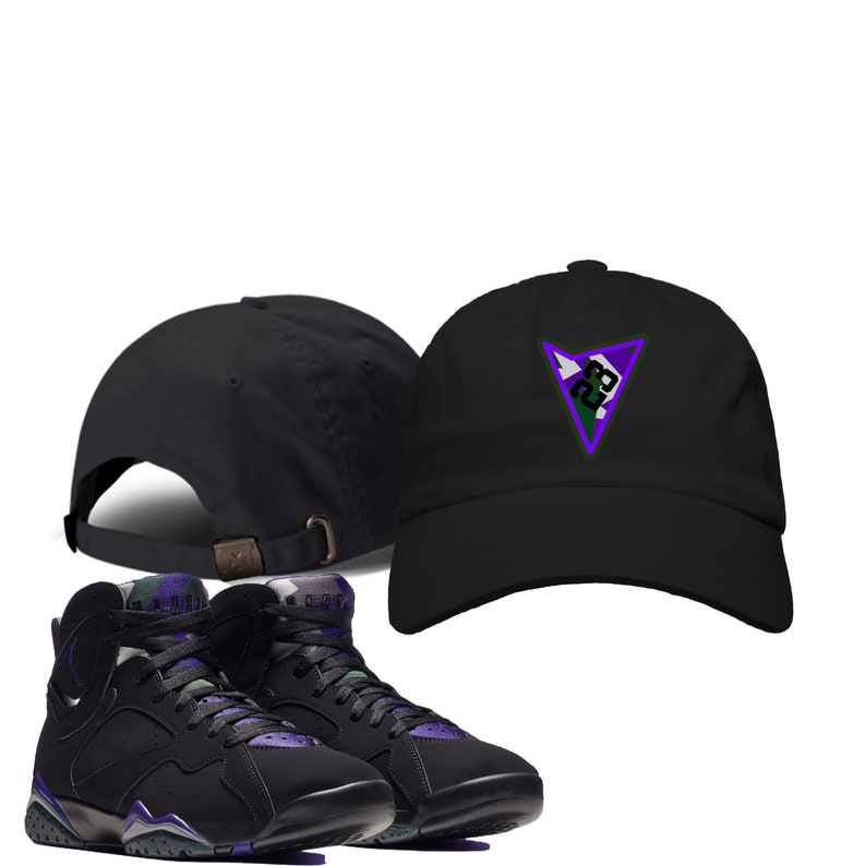 new york c0b24 7ed5f Embroidered Ray Allen | Retro Jordan 7 Colorblock Dad Hat | Cap | Designed  to Match Air Jordan VII Sneakers Active flight