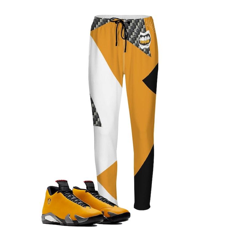 reputable site 568f1 9b9b6 Carbon Ferrari Joggers | Retro Jordan 14 Reverse Colorblock | jogging pants  | Designed to Match Air Jordan XIV Sneaker flight