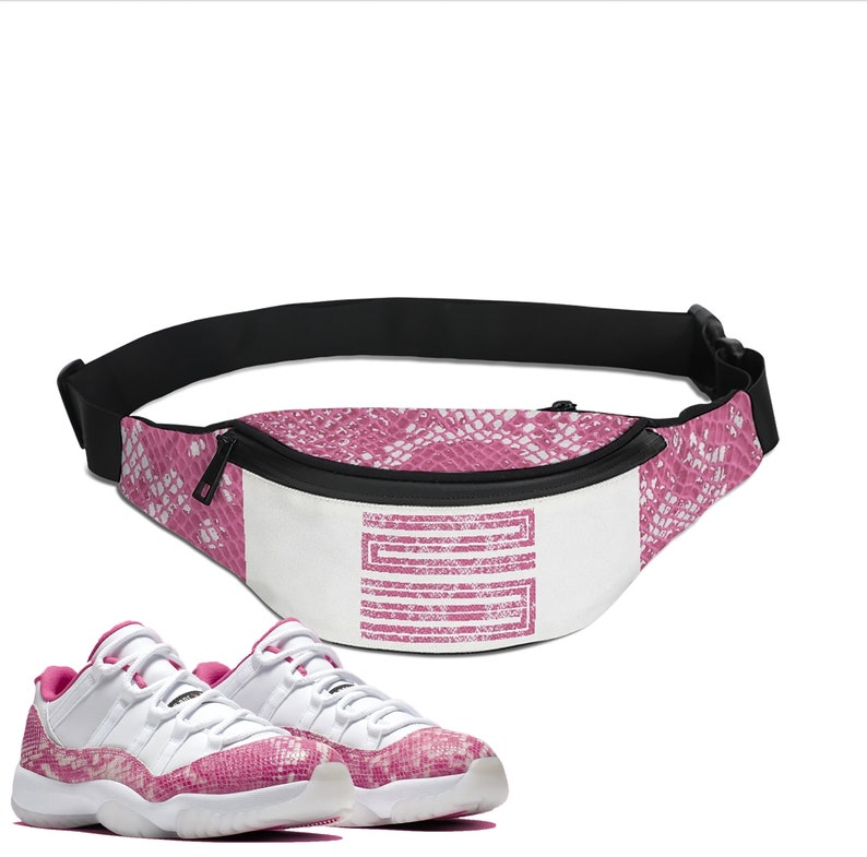 separation shoes 27813 9d72d Snakeskin Print   Retro Jordan 11 Colorblock Crossbody Bag   Sling Bag    Fanny Pack   Designed to Match Air Jordan 11 Sneakers Active