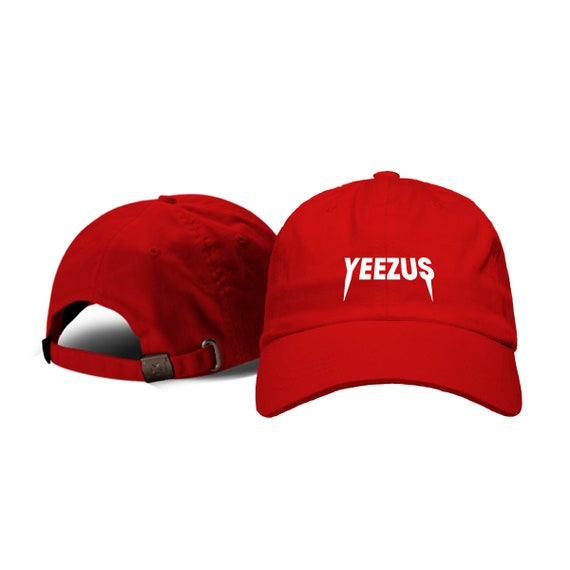 Yeezus Hat Hip-hop Dad Hat Dad Hats Rap Kanye West Cap  5abbb84e27a
