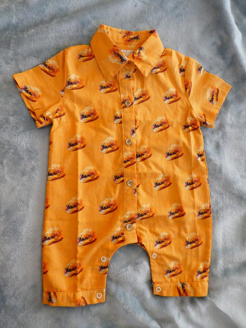 Baby Romper-Cinci Cribs-Cincinnati Cheese Coney-Baby Clothes