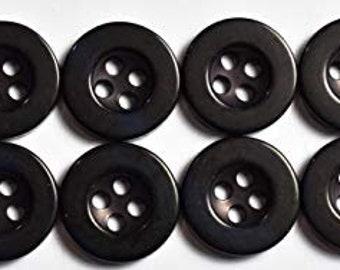 - 8 Shirt Sleeve Buttons 11.5mm 1//2in Dress Shirt Buttons 24pc Set 7//16in Olive Green 16 Shirt Front Buttons 13mm