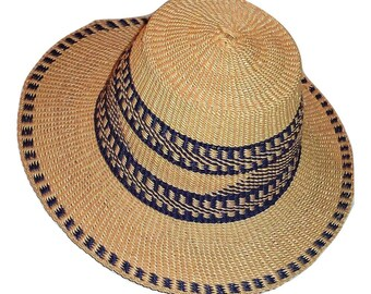 c28b008ce68 African Authentic Unisex Raffia straw sun hat