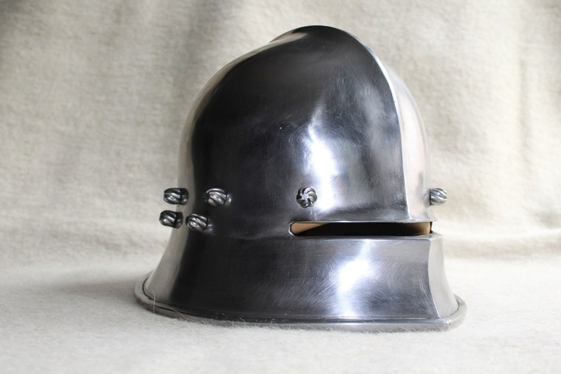 Medieval Historical Knight Armour Sallet Helmet from 15th Century - German  Armor - Fully Functional Authentic Replica