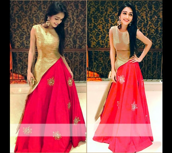 Indian Sequin Butti Work Crop Top Lehenga Choli Stiched Etsy