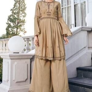 Long Kurti Suits Fusion Wear Bandhani suits Indian Designer Georgette Bandhej Jaipuri Print Kurti with Pant Salwar Suits