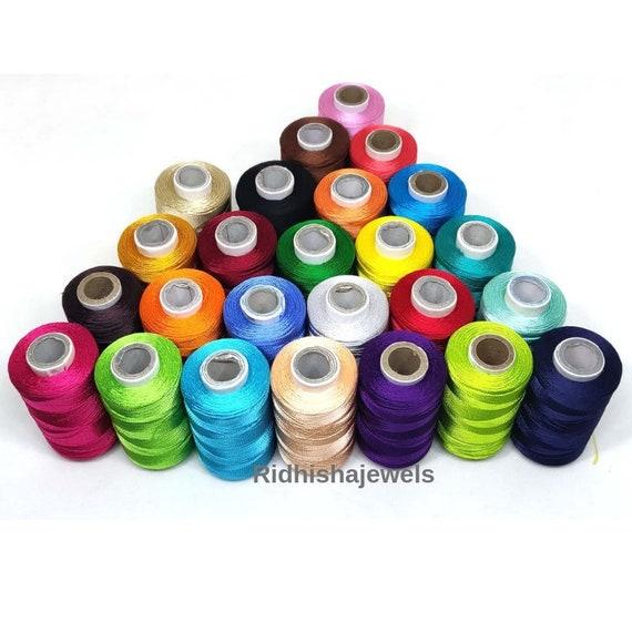 Great Product 25  Silk  Embroidery Floss//Threads 25 Colours High Quality