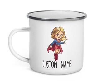 Personalised SuperWomen Mug Name Fabulous Novelty Gift