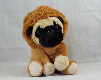 Hund Pug Plüsch-Mops in limitierter MopsBox von Möpsle Party Geschenk