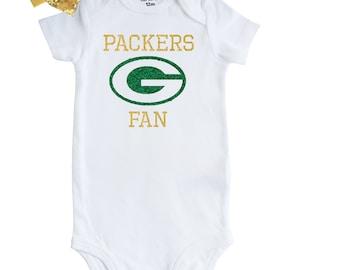 5589026c Packers onesie   Etsy