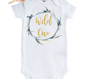 f451a0756 Boho Baby Onesie, Boho Watercolor Vinyl Shirt, Boho Style Baby Birthday  Outfit, Boho Baby Clothing, Wild One Onesie, Birthday Boho Outfit