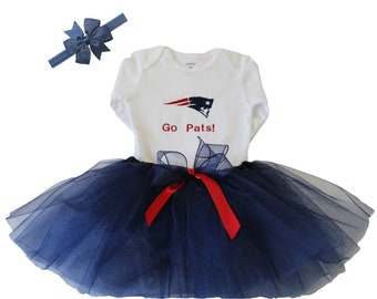 f239e990129 New England Patriots Baby Outfit
