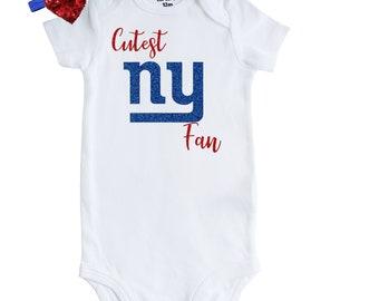 f5c2d5c3a New York Giants Baby Girl Bodysuit, Newborn Giants Fan Onesie, New York Giants  Baby, Giants Fan Gift, Giants Fan Birthday Baby Girl
