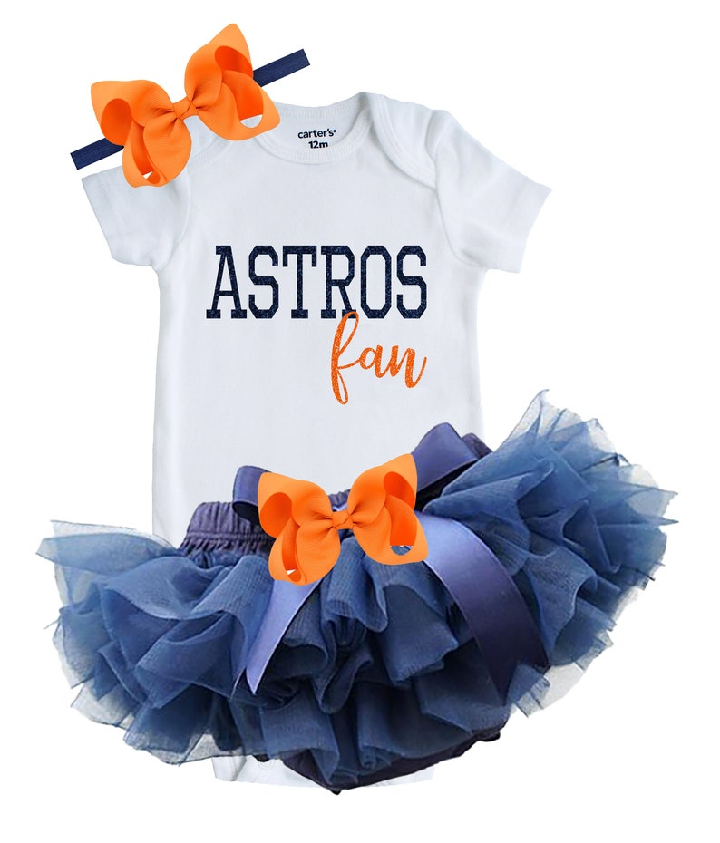 d3c17a8a Astros Baby Outfit, Houston Texas Baseball Outfit, Astros Fan Outfit,  Newborn Astros Fan Outfit, ASTROS Shirt, Astros Bloomers and Onesie