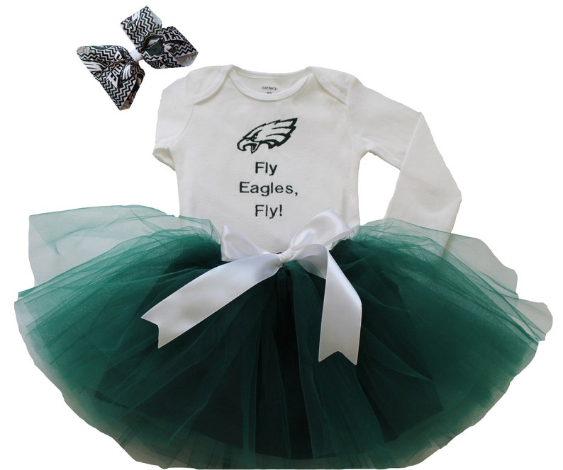 74ad18b8c8c Philadelphia Eagles Baby Girl Outfit Philadelphia Eagles Baby | Etsy