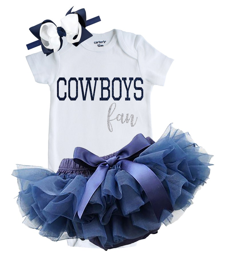 the best attitude 67f8d 87c68 Dallas Cowboys Fan Outfit, Dallas Cowboys Baby Outfit, Newborn Cowboys Fan  Outfit, Cowboys Custom Shirt, Cowboys Baby, Cowboys Bodysuit, Bow