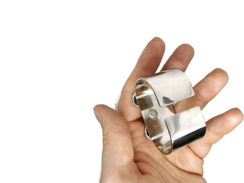Silver napkin rings Housewarming Gift French napkin rings Napkin ring holders French Napkin Holders Vintage napkin holders