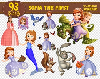 Sofia First Clipart Etsy