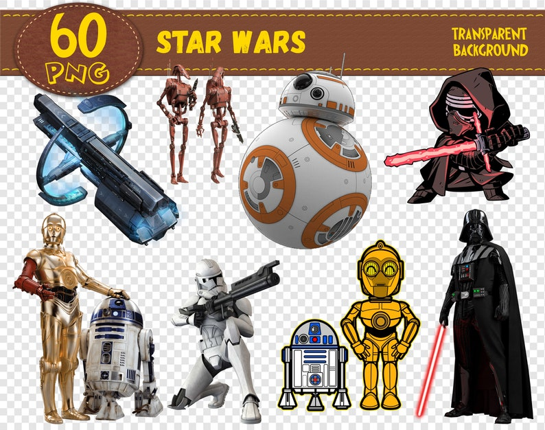 graphic relating to Printable Star Wars Characters identify Star Wars Clipart, Star Wars people, Star Wars png, printable, electronic clipart, electronic print, clear backgrounds, Immediate Down load