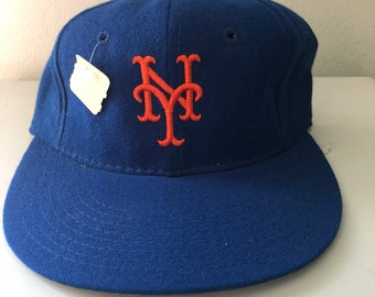 Vintage New York Mets Fitted Hat (size 6-5 8) 22aac80bd1ed