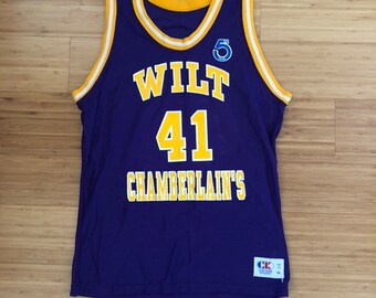 86e7224d1 Rare Vintage Wilt Chamberlain s Jersey By Cliff Keen Athletic (size youth  XL