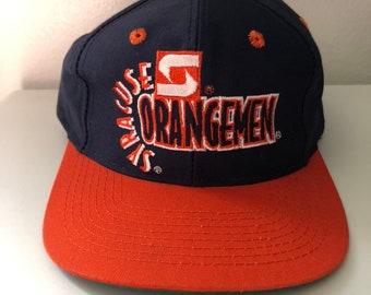92fb866cc62 Vintage Syracuse Orangemen Snapback By The Game