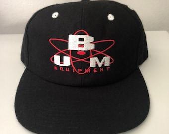 5baa4a9c Vintage 90s BUM Equipment Snapback Hat