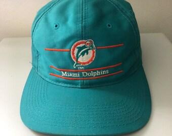 premium selection da25c 4dce9 Vintage Miami Dolphins Snapback Hat