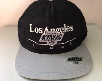 286856ec0de5e Vintage Los Angeles Kings Snapback By Twins