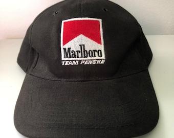 8e916d48051 Vintage Marlboro Team Penske Racing Hat