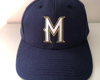 separation shoes 86d2e 93751 Vintage Milwaukee Brewers Sports Specialties Snapback Hat
