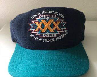 d77408138c8 Vintage Super Bowl XXX Snapback Hat