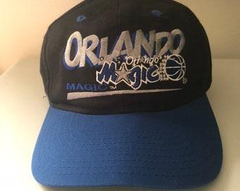 32072b83 Vintage Orlando Magic Snapback Twins Hat