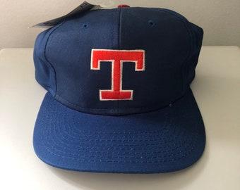 7ce8685a087834 Vintage Texas Rangers Snapback Hat