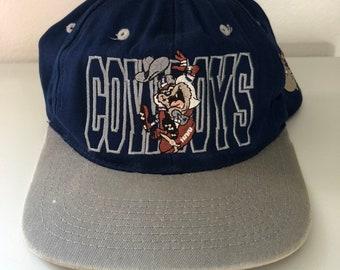 Vintage Dallas Cowboys Taz Snapback Hat 7ae9a37ec