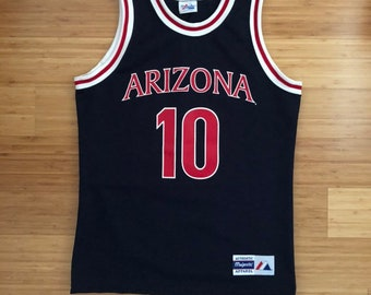 eb73724a5252 Vintage Mike Bibby Arizona  10 Jersey (size M)