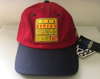 931be2cf9b4 Vintage 1999 USA FIFA Womens World Cup Hat