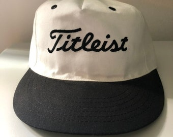 Vintage Titleist Golf Fitted Hat Made In USA (size S M) 404cd0c132d