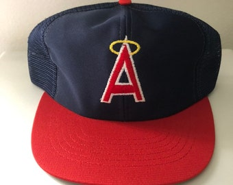 95960cecead11 Vintage Los Angeles Anaheim Angels Snapback Hat