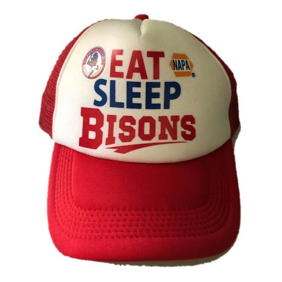 Vintage Buffalo Bisons Trucker Hat