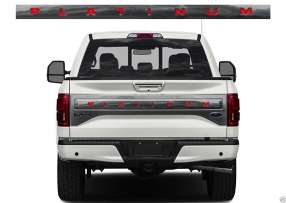SF Sales USA Chrome Tailgate Inserts for Silverado 2019-2020 ABS Letters Not Decals