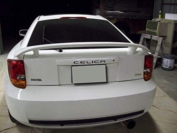 BDTrimsRed Rear Bumper letters for Toyota Celica ABS Plastic Inserts