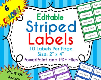 notebook labels etsy